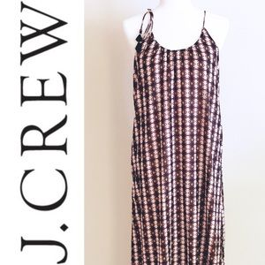 J. Crew Halterneck Maxi Dress sz S